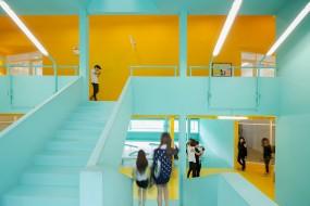 Il nuovo 'vibrante' campus by Supermachine Studio