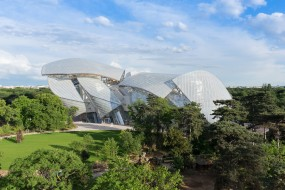 Le vele del 'Fondation Louis Vuitton' by Frank Gehry