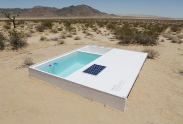 Social Pool: una 'scultura' di lusso nel mezzo del deserto