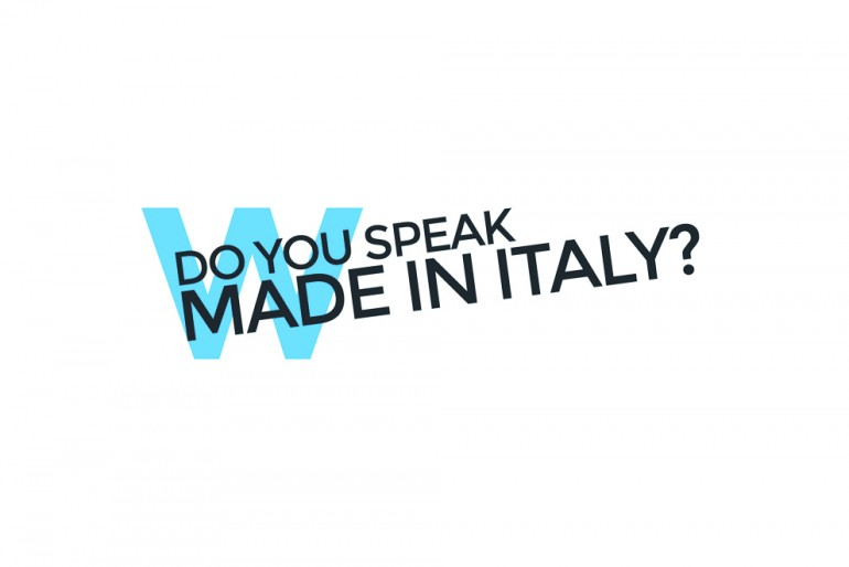 Mostra-workshop Do you speak Made in Italy?