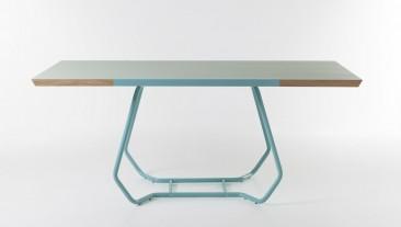 Duale, il tavolo by Luca Binaglia for Formabilio
