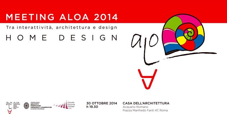Meeting ALOA tra interattività, architettura e design